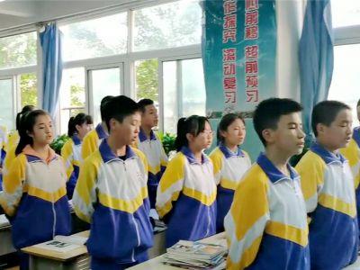 班歌嘹亮!兰州成功初中学子课前班歌采风